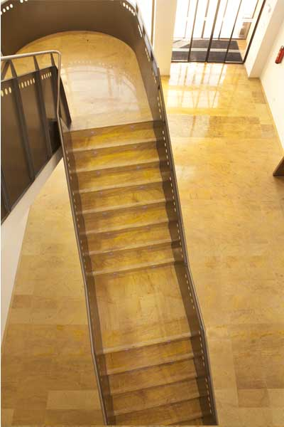 Marble luxury Project: Stairs and floors